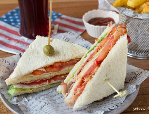 Club Sandwich con tacchino arrosto