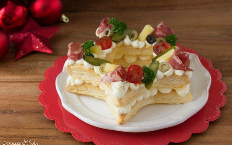 Cream Tart stella antipasto di sfoglia facile e scenografico