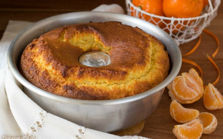 Pan di mandarino (ricetta con e senza monsieur cuisine plus)