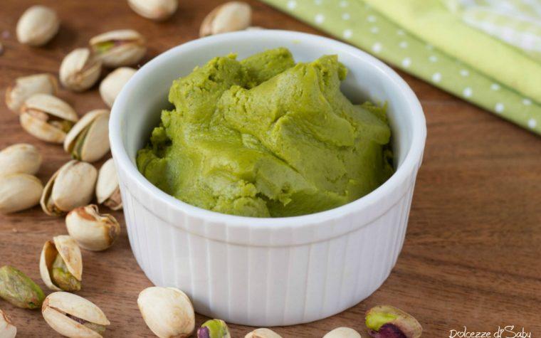 Pasta di pistacchio fatta in casa facilissima