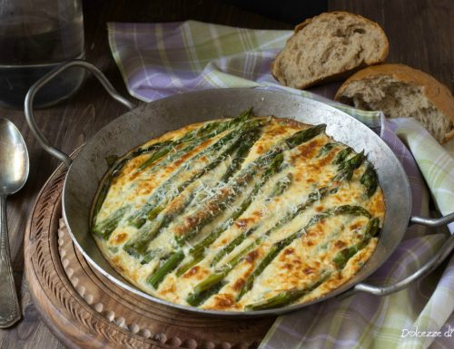 Asparagi gratinati al parmigiano
