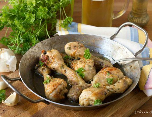 Pollo alla birra tenerissimo e succoso