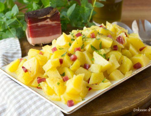 Insalata di patate con speck