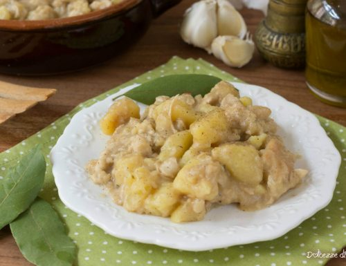 Spezzatino di pollo con patate cremosissimo