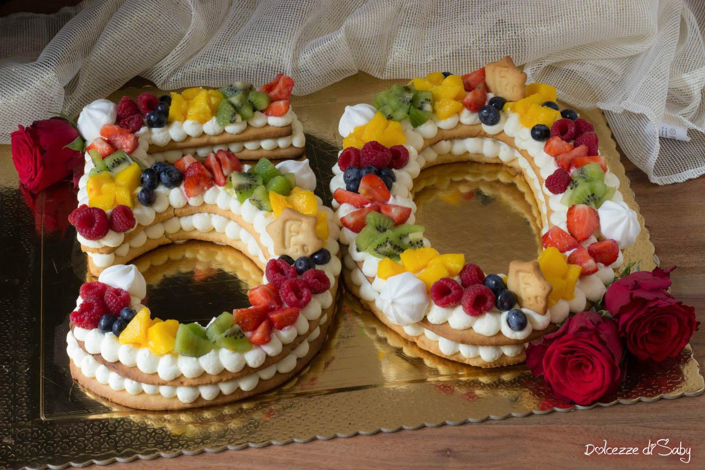 Cream Tart Numero 50 Una Torta Di Compleanno Speciale E Scenografica