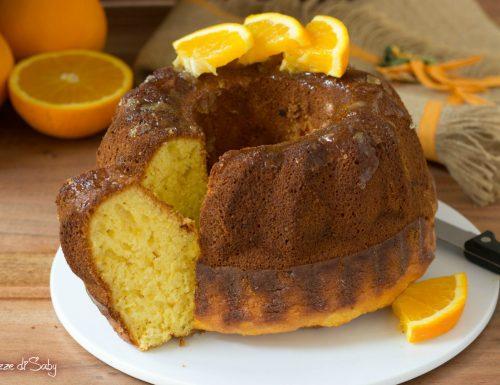 Ciambellone all'arancia frullata o pan d'arancio