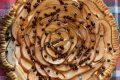 Crostata con pere, ricotta e gocce di cioccolato