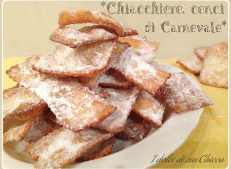 Chiacchiere, cenci, frappe friabili, ricetta di Carnevale