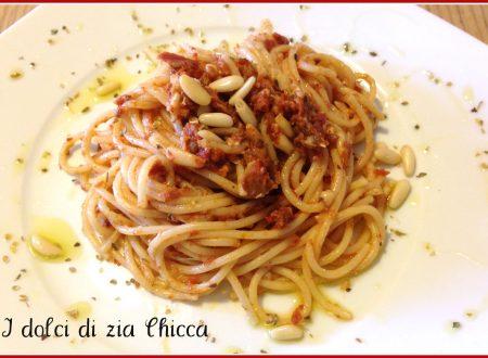 Pasta con pomodori secchi, ricetta veloce