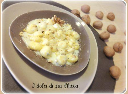 Gnocchi ai 4 formaggi