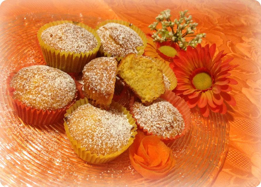 Muffin di carote e mandorle simil Camille