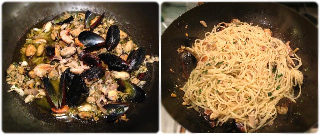 Spaghetti allo scoglio ricetta veloce