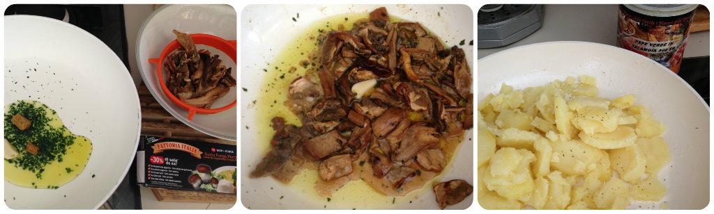 Sformato di funghi e patate i dolci di zia chicca - Funghi secchi a bagno ...