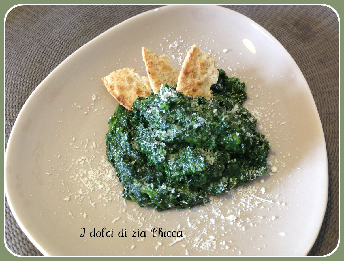 Spinaci filanti ricetta veloce