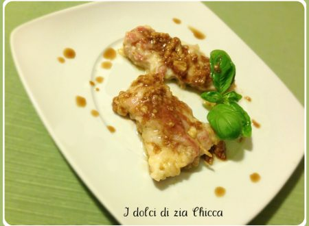 Scaloppine con pancetta all'aceto balsamico