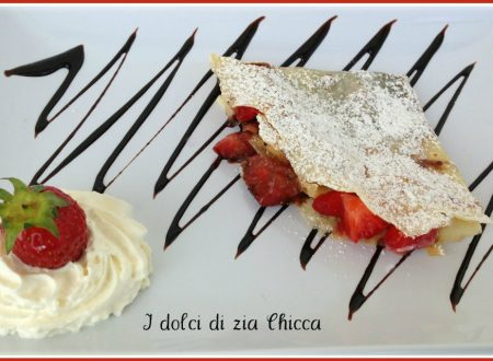 Crepes con fragole e nutella