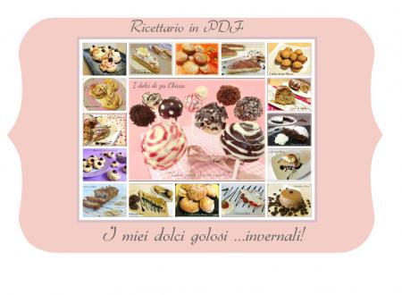 Ricettario in PDF: I miei dolci golosi invernali
