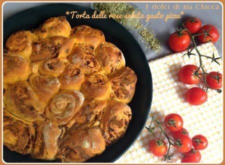 Torta delle rose salata gusto pizza