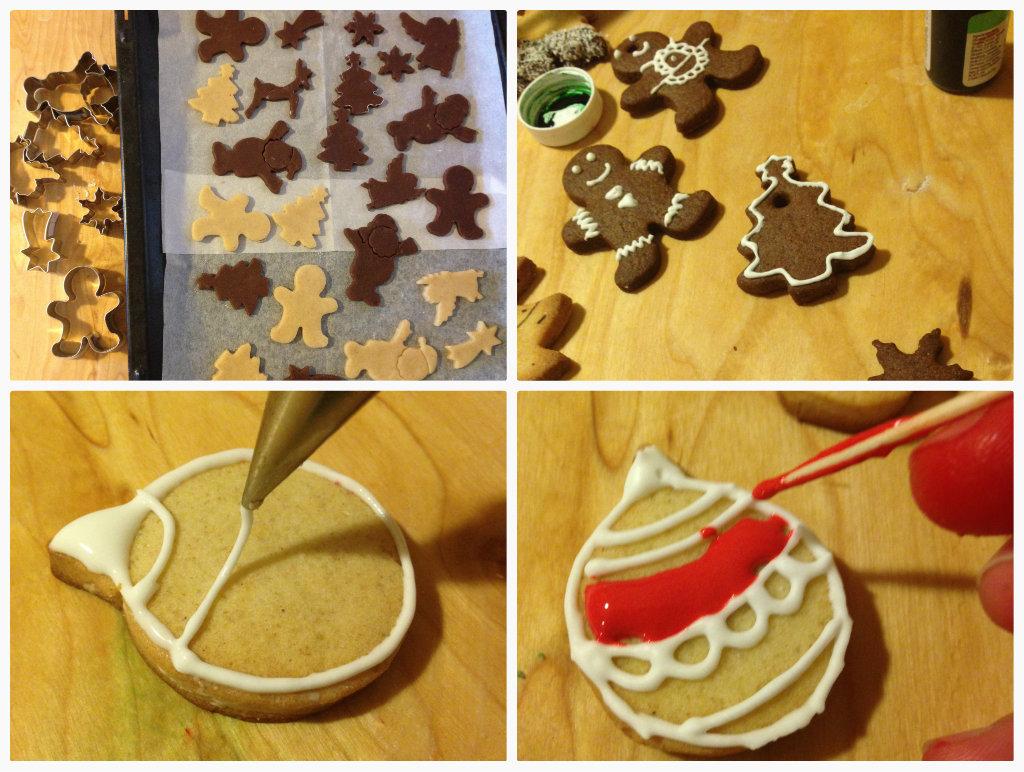 Biscotti di frolla decorati, Idea Regalo per Natale