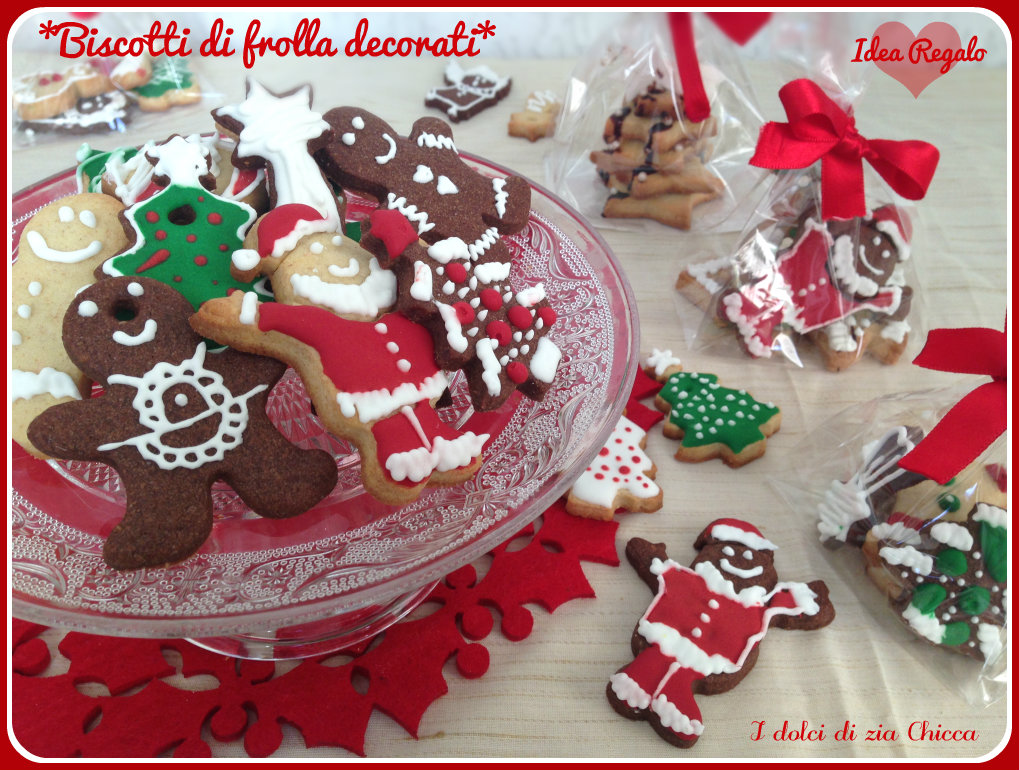 Biscotti di frolla decorati idea regalo per natale i for Appartamenti decorati per natale