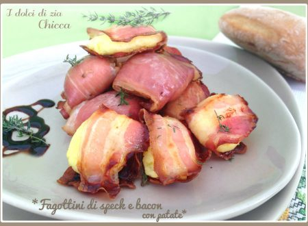 Fagottini di speck e bacon con patate