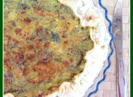 Torta salata di carciofi e patate