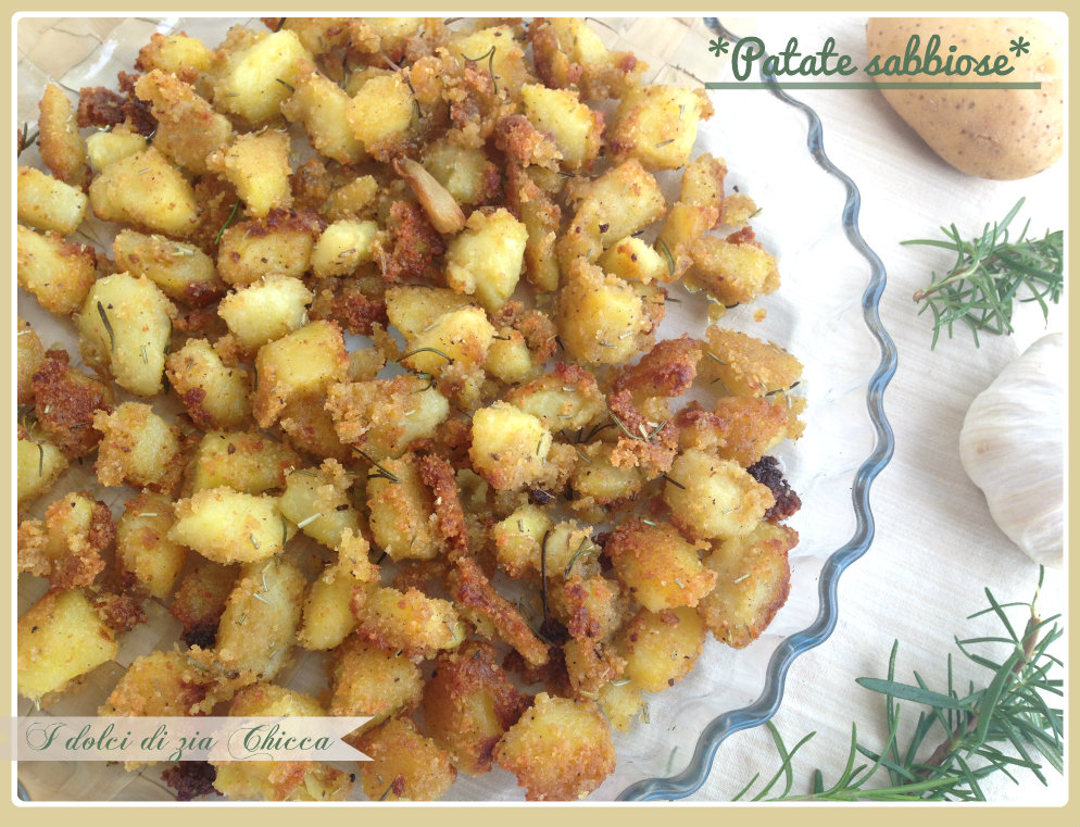 patate sabbiose cotte al forno
