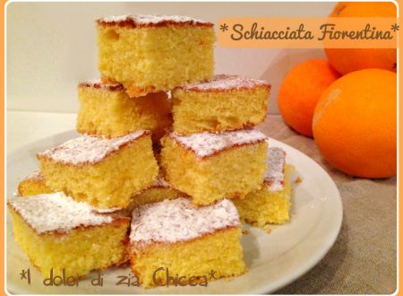 Schiacciata Fiorentina al profumo di arancia, ricetta di Carnevale
