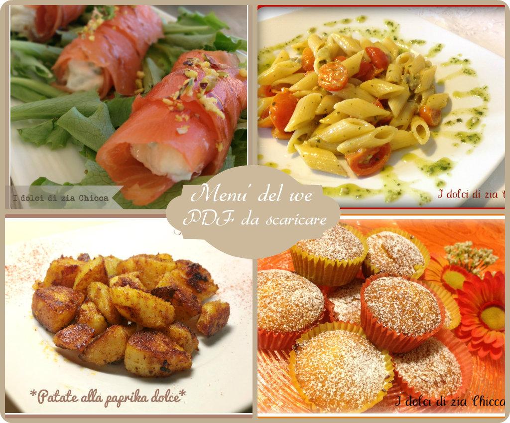 menu' del we