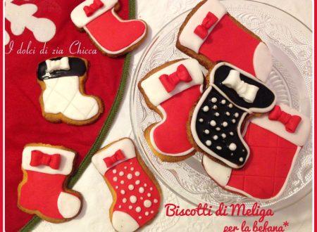 Biscotti di Meliga per la Befana