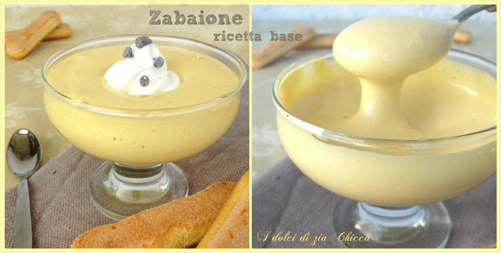 Zabaione, ricetta base