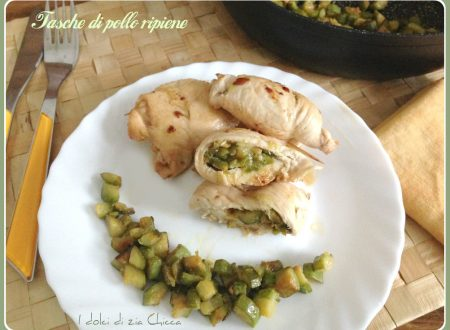 Bocconcini di pollo ripieni di zucchine