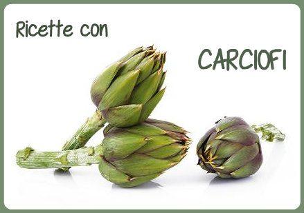 Ricette con CARCIOFI in PDF