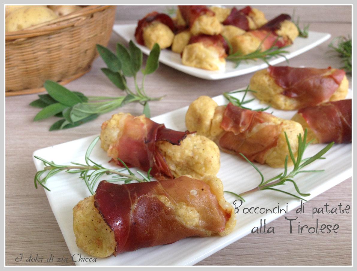Bocconcini di patate alla tirol