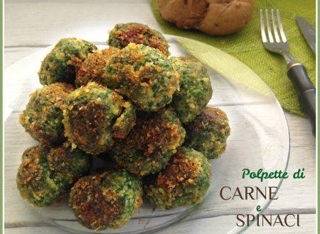 Polpette di carne e spinaci