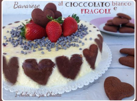 Bavarese al cioccolato bianco e fragole