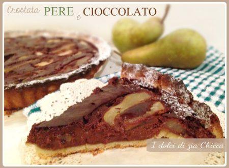 Crostata pere e cioccolato