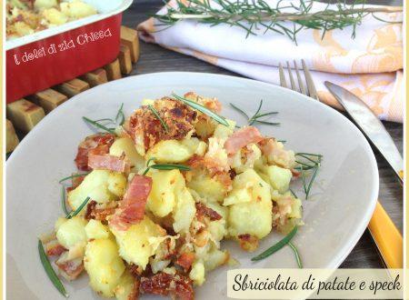 Sbriciolata di patate e speck