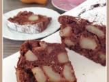 Plumcake pere e cioccolato