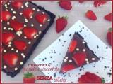 Crostata fragole e cioccolato SENZA cottura