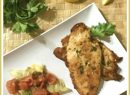 Pollo al forno leggero e croccante