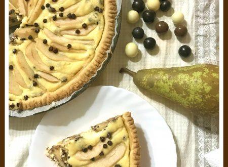 Crostata di pere, ricotta e cioccolato