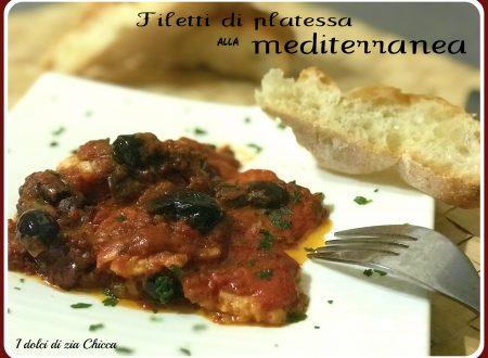 Filetti di platessa alla mediterranea