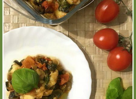 Melanzane a funghetto alla parmigiana