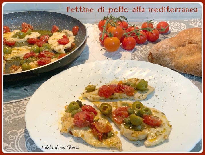 Fettine di pollo alla mediterranea