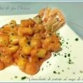 Gnocchetti di patate al sugo di scampi