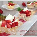Cestini di fragole, yogurt e mascarpone
