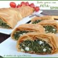 Torta greca di feta e spinaci