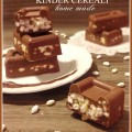 Kinder cerali homemade