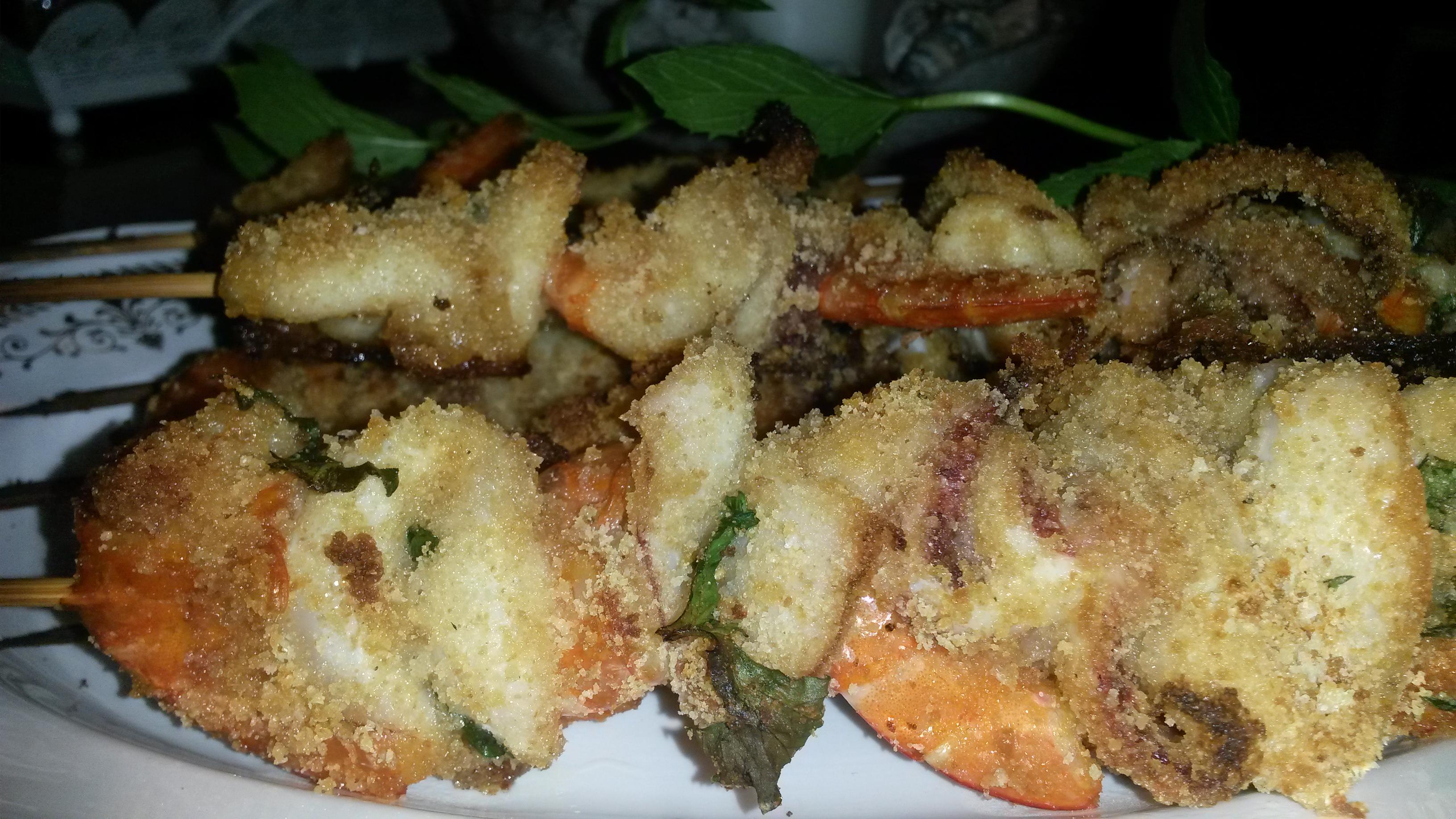 Ricerca ricette con spiedini di pesce gratinati al forno for Spiedini di pesce gratinati